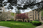 Pasquerilla West Hall..Photo by Matt Cashore/University of Notre Dame