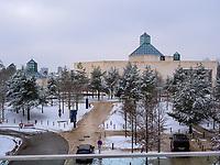 MUDAM- Musée d'Art Moderne Grand-Duc Jean, Luxemburg-City, Luxemburg, Europa<br /> , Luxembourg City, Europe