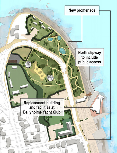 This plan aims to redevelop a two-mile stretch of the seafront to re-establish Bangor as a thriving town and prime visitor attraction in Northern Ireland