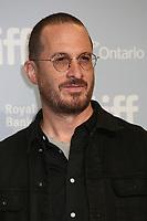 DIRECTOR DARREN ARONOFSKY - PHOTOCALL OF THE FILM 'MOTHER!' - 42ND TORONTO INTERNATIONAL FILM FESTIVAL 2017 . TORONTO, CANADA, 10/09/2017. # FESTIVAL DU FILM DE TORONTO - PHOTOCALL 'MOTHER!'