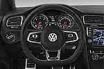 Car pictures of steering wheel view of a 2014 Volkswagen GOLF GTD 5 Door Hatchback Steering Wheel