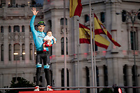 Miguel 'Superman' Angel Lopez (COL/Astana) is awarded the 'super combatif' award for the 2019 Vuelta<br /> <br /> Stage 21: Fuenlabrada to Madrid (107km)<br /> La Vuelta 2019<br /> <br /> ©kramon