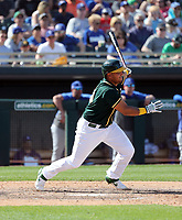 Carlos Perez - Oakland Athletics 2020 spring training (Bill Mitchell)