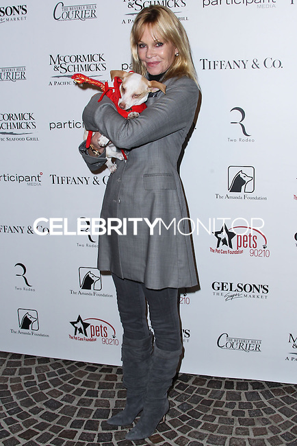 """BEVERLY HILLS, CA - OCTOBER 27: Actress Melanie Griffith arrives at the """"Bow Wow Beverly Hills"""" Presents The Big Bark Theory Halloween Event benefiting The Amanda Foundation held at Two Rodeo Drive on October 27, 2013 in Beverly Hills, California. (Photo by Xavier Collin/Celebrity Monitor)"""