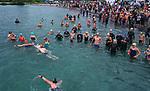5km race during the New Zealand Open Water Swimming Championships, Lake Taupo, Waikato, New Zealand. Sunday 17 January 2021. Photo: Simon Watts/www.bwmedia.co.nz/SwimmingNZ