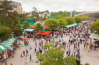 27-5-09, France, Paris, Tennis, Roland Garros, Atmosphere