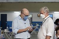 Campinas (SP), 28/01/2021 - Vacinação Covid-19 - O Prefeito de Campinas, Dario Saad (Republicanos) participa nesta quinta-feira (28), no Centro de Vivência do Idoso, do início da segunda etapa da vacinação contra a Covid-19.