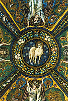 Ravenna: Temple of San Vitale--Cupola, 6th century.