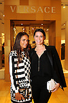 Laure Heriard-Dubreuil and Francine Ballard at the Versace pre-party for the Vogue Galleria Fashion Show at the Galleria Thursday Sept. 10,2015.(Dave Rossman photo)
