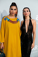 CAP D'ANTIBES, FRANCE - JULY 16: Farnoush Hamidian and Amy Jackson at the amfAR Cannes Gala 2021 during the 74th Annual Cannes Film Festival at Villa Eilenroc on July 16, 2021 in Cap d'Antibes, France. <br /> CAP/GOL<br /> ©GOL/Capital Pictures