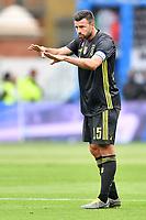 Andrea Barzagli of Juventus reacts <br /> Ferrara 13-4-2019 Stadio Paolo Mazza Football Serie A 2018/2019 SPAL - Juventus <br /> Foto Andrea Staccioli / Insidefoto