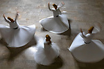 Turkey, Istanbul, whirling dervishes