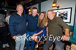Enjoying the evening in Turners Bar on Sunday, l to r: Dan O'Mahoney, Gordon Kerins, Nicole Stimpfig and Charles O'Sullivan.