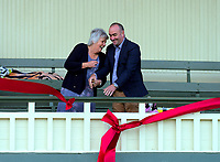 Cricket pavilion opening at Queen Elizabeth Park in Masterton, New Zealand on Wednesday, 14 December 2019. Photo: Dave Lintott / lintottphoto.co.nz