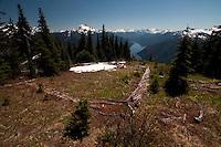 Desolation Peak, North Cascades National Park, Washington, US