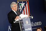 Atletico de Madrid's President Enrique Cerezo. July 13, 2015. (ALTERPHOTOS/Acero)