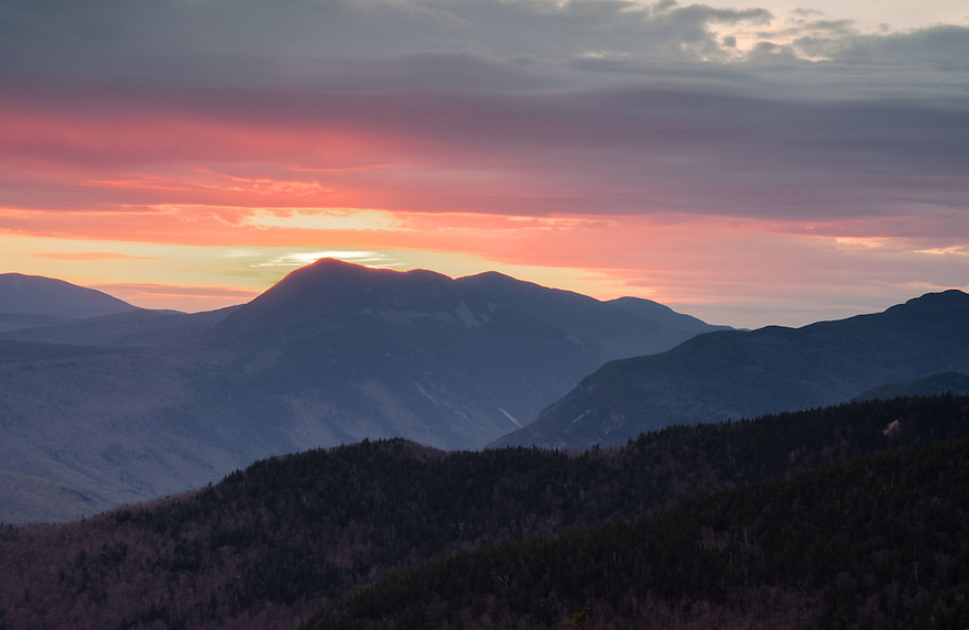 Fire in the sky, captured in this White Mountain sunset.