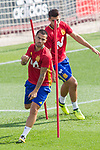 Suso during the training of the spanish national football team in the city of football of Las Rozas in Madrid, Spain. August 28, 2017. (ALTERPHOTOS/Rodrigo Jimenez)