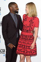 """David Oyelowo and Rosamund Pike<br /> at the London Film Festival photocall for the opening film, """"A United Kingdom"""", Mayfair HotelLondon.<br /> <br /> <br /> ©Ash Knotek  D3159  05/10/2016"""