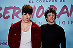 "Javier Ambrossi and Javier Calvo attends to ""El Corazon De Sergio Ramos"" premiere at Reina Sofia Museum in Madrid, Spain. September 10, 2019. (ALTERPHOTOS/A. Perez Meca)"