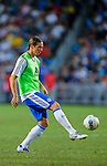 Fernanto Torres of Chelsea control the  ball before the Asia Trophy Final match against Aston Villa at the Hong Kong Stadium on July 30, 2011 in So Kon Po, Hong Kong. Photo by Victor Fraile / The Power of Sport Images\