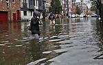 Hoboken New Jersey affected Hurricane Sandy