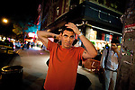 NEW YORK -  AUGUST 26, 2010:  Night out with Steve-O in the East Village on August 26, 2010 in New York City.  (PHOTOGRAPH BY MICHAEL NAGLE)