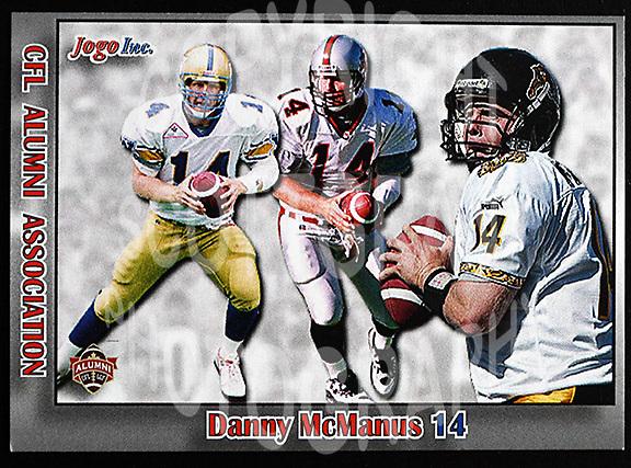 Danny McManus-JOGO Alumni cards-photo: Scott Grant