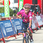 Magnus Cort Nielsen (DEN) EF Education-Nippo wins Stage 6 of La Vuelta d'Espana 2021, running 158.3km from Requena to Alto de la Montaña Cullera, Spain. 19th August 2021.    <br /> Picture: Cxcling   Cyclefile<br /> <br /> All photos usage must carry mandatory copyright credit (© Cyclefile   Cxcling)