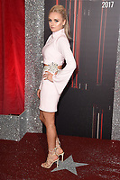 Katie McGlynn<br /> at the British Soap Awards 2017 held at The Lowry Theatre, Manchester. <br /> <br /> <br /> ©Ash Knotek  D3272  03/06/2017