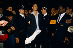Prankster 1990s UK. Promotional book publicity tour for Monica Lewinsky her autobiography Monicas Story. He was arrested London  1999
