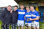 Tom, Conor, Tom Jnr, Killian and Adrian Spillane celebrate after the Munster final on Sunday