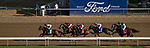 September 4, 2020: Sharesthedevil, #7, ridden by jockey Florent Geroux, wins the Longines Kentucky Oaks on Kentucky Oaks Day. The races are being run without fans due to the coronavirus pandemic that has gripped the world and nation for much of the year, with only essential personnel, media and ownership connections allowed to attend at Churchill Downs in Louisville, Kentucky. John Voorhees/Eclipse Sportswire/CSM