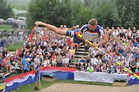 FIERLJEPPEN: Selectie 2013, Nederlandskampioen Thewis Hobma, ©foto Martin de Jong