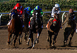 December 26, 2020: Kiss Today Goodbye with Mike smith wins the San Antonio Stakes at Santa Anita Park in Arcadia, California on December 26, 2020. Evers/Eclipse Sportswire/CSM