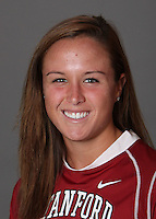 STANFORD, CA - OCTOBER 29:  Ryan O'Shea of the Stanford Cardinal women's lacrosse team poses for a headshot on October 29, 2009 in Stanford, California.