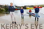 The Portmagee Rowing Club El Nino are back in the water the first in Ireland with their Single Sculls and in training groups of four, pictured here l-r; Aoife Murphy, Chloe Devane, Jane O'Connor & Rachel Devane.