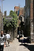 Street in the old quarter of Diyarbakir, southeastern Turkey