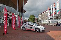 15-sept.-2013,Netherlands, Groningen,  Martini Plaza, Tennis, DavisCup Netherlands-Austria, entrance  <br /> Photo: Henk Koster