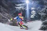 29th December 2020; Semmering, Austria; FIS Womens Giant Slalom World Cup Skiing; Melanie Meillard of Switzerland during her 2nd run of women Slalom competition of FIS ski alpine world cup at the Panoramapiste in Semmering