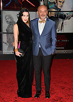 """Dita Von Teese & Guest at the world premiere for """"Star Wars: The Last Jedi"""" at the Shrine Auditorium. Los Angeles, USA 09 December  2017<br /> Picture: Paul Smith/Featureflash/SilverHub 0208 004 5359 sales@silverhubmedia.com"""
