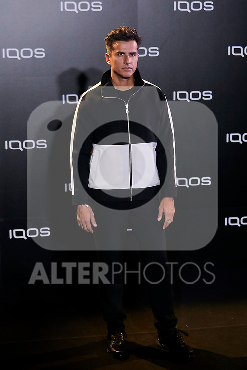 Orson Salazar attends to IQOS3 presentation at Palacio de Cibeles in Madrid, Spain. February 13, 2019. (ALTERPHOTOS/A. Perez Meca)