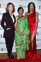 NEW YORK CITY, NY, USA - MARCH 07: Susan Sarandon, Vijaya Lakshmi, Padma Lakshmi at the 6th Annual Blossom Ball Benefiting Endometriosis Foundation Of America held at 583 Park Avenue on March 7, 2014 in New York City, New York, United States. (Photo by Jeffery Duran/Celebrity Monitor)