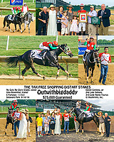 Outwithbigdaddy winning The Tax Free Shopping Distaff at Delaware Park on 9/10/16