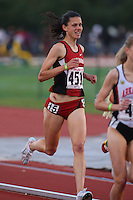 4 May 2008: Stanford Cardinal Alicia Follmar during Stanford's Payton Jordan Cardinal Invitational at Cobb Track & Angell Field in Stanford, CA.