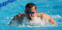 Trofeo Settecolli di nuoto al Foro Italico, Roma, 14 giugno 2013.<br /> Laszlo Cseh, of Hungaria, competes in the men's 400 meters medely at the Sevenhills swimming trophy in Rome, 14 June 2013.<br /> UPDATE IMAGES PRESS/Isabella Bonotto