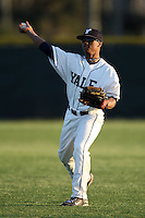 March 13, 2010:  Outfielder Cam Squires of the Yale Bulldogs vs. the Akron Zips in a game at Henley Field in Lakeland, FL.  Photo By Mike Janes/Four Seam Images