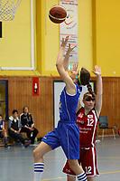 Miriam Aillaud (WU17 TV Groß-Gerau) greift an - Groß-Gerau 23.04.2017: WU17 Hessenpokal TV Gross-Gerau vs. TSV Krofdorf/Gleiberg