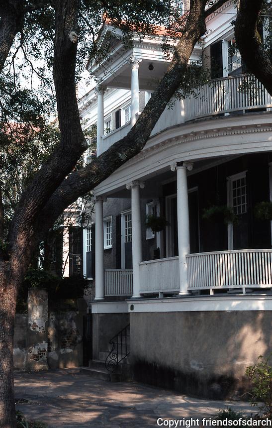 Charlston:  Charleston House.  Photo '78.
