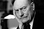 Enoch Powell at home London 1983<br />
